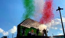 ترتيب الصانعين بعد انتهاء جائزة ايطاليا الكبرى