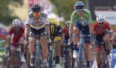 فالفيردي يفوز بالمرحلة الثامنة من سباق الدراجات الهوائية
