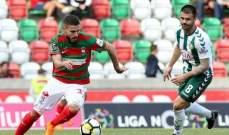 الدوري البرتغالي: ماريتيمو ينقاد الى تعادل بطعم الخسارة امام سيتوبال