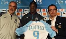 بالوتيلي : سألعب في قلب دفاع مرسيليا