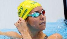 أولمبياد طوكيو-سباحة: الأسترالية إيما ماكيون تحرز ذهبية 50 م حرة