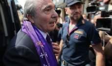 رئيس فيورنتينا غير مصاب بالكورونا