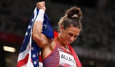 اولمبياد طوكيو: ذهبية رمي القرص للأميركية اولمان