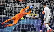 علامات لاعبي مباراة يوفنتوس - فالنسيا