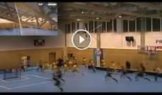 سقوط سقف قاعة رياضية في التشيك
