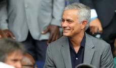 مورينيو يتضامن مع رئيس نادي توتنهام