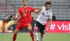 توماس مونييه سعيد بالمستوى الذي ظهر به منتخب بلجيكا امام مصر
