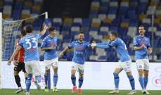 نابولي يستعيد أنفاسه بفوز مهم على بينيفنتو