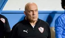 مدرب الزمالك يطالب لاعبيه بنقاط المصري البورسعيدي