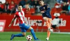 كاس ملك اسبانيا: فالنسيا سينتظر مباراة العودة لتعويض الخسارة امام خيخون