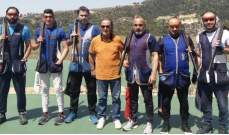 """رماية: جوزيف حنا بطل المرحلة الأولى  من بطولة لبنان للتراب الفئة """"أ"""""""