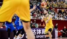 استراليا تكمل نتائجها الرائعة وتقصي تشيكيا من مونديال السلة