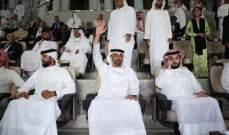 محمد بن زايد يشهد حفل نهائي البطولة العربية للاندية