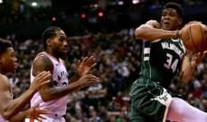 NBA: تورنتو يسقط امام وصيفه والسبيرز يتفوق على يوتا جاز