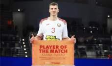 مونديال اليد: كوليش افضل لاعب في لقاء روسيا وبيلاروسيا