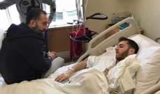 قائد منتخب لبنان يزورعرقجي في المستشفى