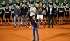 عودة الروح الى كرة المضرب امام جمهور متحمس في بلغراد