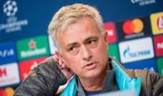 مورينيو: قلت للجميع إن ليفربول سيفوز باللقب