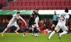 البوندسليغا: البايرن يحسم ديربي ميونيخ بصعوبة امام اوغسبورغ وفوز لايبزيغ على يونيون برلين