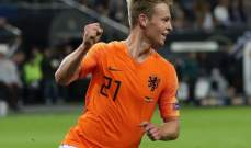 علامات لاعبي مباراة المانيا وهولندا