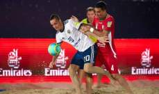 اسبانيا تواجه ايران في نهائي كأس القارات لكرة القدم الشاطئية
