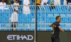 النصر يكتسح الرائد والفيحاء يسقط امام التعاون بالدوري السعودي