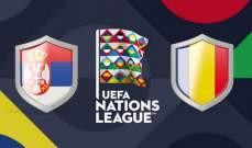 دوري الامم الاوروبية: تعادل سلبي بين رومانيا وصربيا