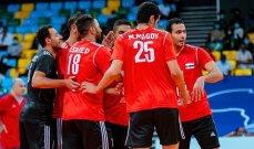 كأس الامم الافريقية للكرة الطائرة : تأهل مصر وتونس لربع النهائي
