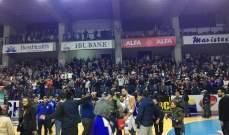 ترتيب فرق الدوري اللبناني لكرة السلة في مرحلة الاياب