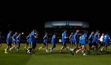 ريال مدريد يخوض المران الأول في أبوظبي