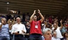اكرم الحلبي : المنتخب قدم اداء جيد واضع الاخطاء التحكيمية بايدي الراي العام