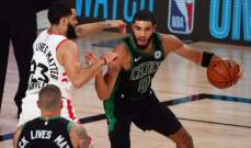 NBA: بوسطن يفوز على رابتورز ويتأهل الى نهائي المنطقة الشرقية