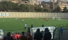 مشاهدات من مباراة الاخاء طرابلس