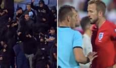 توقف مباراة إنكلترا وبلغاريا بسبب العنصرية