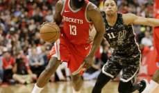NBA: صدارة الهيوستن مستمرة وراسل ويستبروك يقود اوكلاهوما للفوز