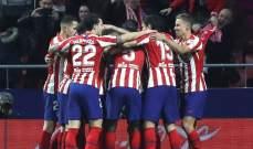 اتلتيكو مدريد يعلن تخفيض رواتب لاعبيه خلال فترة الطوارئ