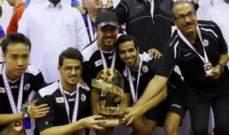 السد يتوج بكأس امير قطر لكرة الطاولة على حساب العربي