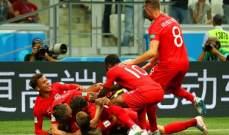 ابرز احصائيات مباراة انكلترا وتونس