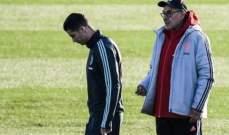 رونالدو يغضب في تدريبات يوفنتوس