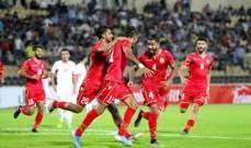البحرين يهزم الاردن في بطولة غرب اسيا