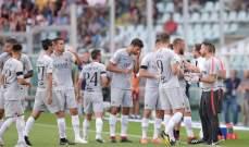 تقنية الفيديو ودزيكو يمنحان روما اولى انتصاراته في الموسم الجديد