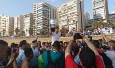 الريجي يتوج للمرة السادسة بلقب بطولة لبنان لكرة القدم الشاطئية