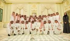 ولي العهد السعودي يستقبل منتخب الشباب بمناسبة تحقيقهم كأس آسيا