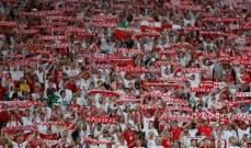 غرامة من الفيفا بحق بولندا بسبب لافتة سياسية