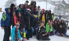 بطولة لبنان للتزلّج الألبي: النتائج الكاملة للمرحلة الأولى للتعرّج الطويل والقصير