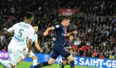 تقييم لاعبي باريس سان جيرمان وسانت اتيان بعد مباراتهما في الليغ 1