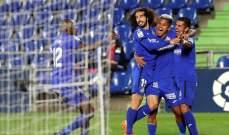 الليغا: خيتافي في الصدارة بعد الفوز على ريال بيتيس