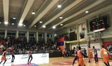 خاص: الهومنتمن الفريق الأكثر تسجيلا في المرحلة الثامن من الدوري اللبناني لكرة السلة ؟