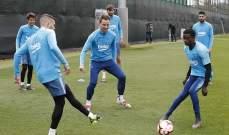 لينغليت يعود إلى تدريبات برشلونة بشكل جزئي