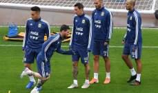 ميسي يريد المشاركة مع الارجنتين امام تشيلي